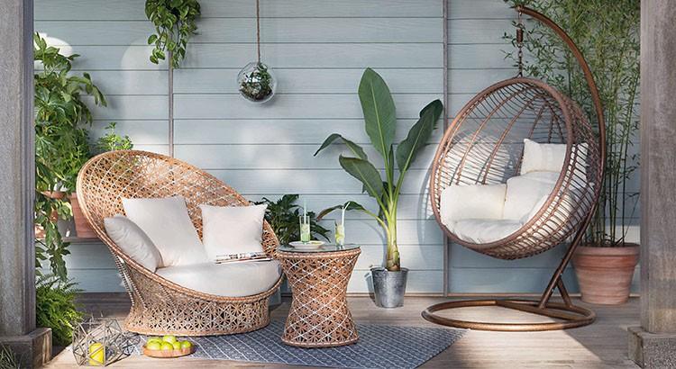 Table basse de jardin maison du monde