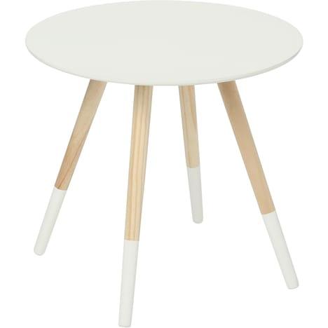 Table basse comptoir scandinave