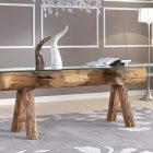 Table basse design nature
