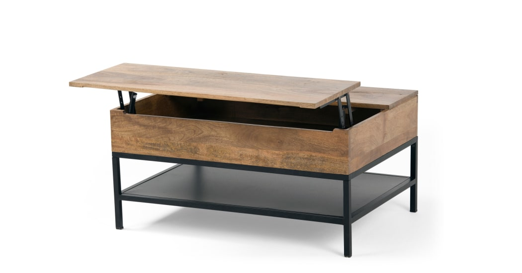Made.com table basse relevable