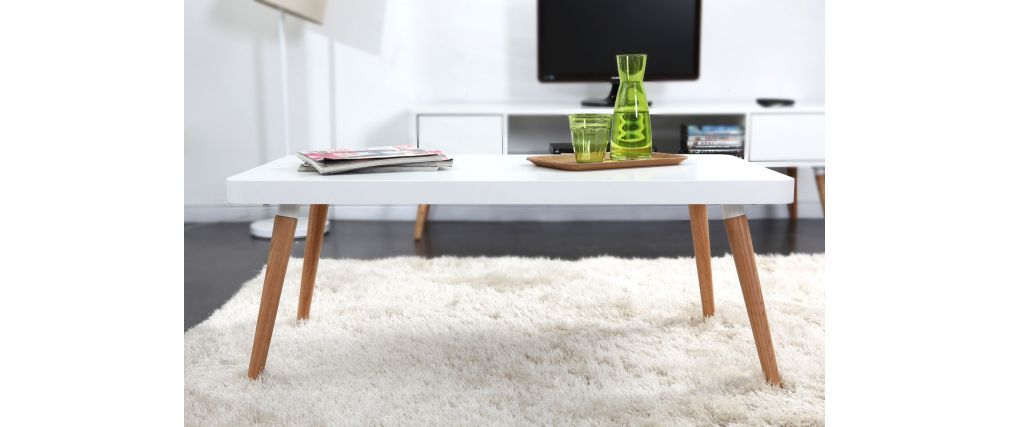 Table basse designer scandinave