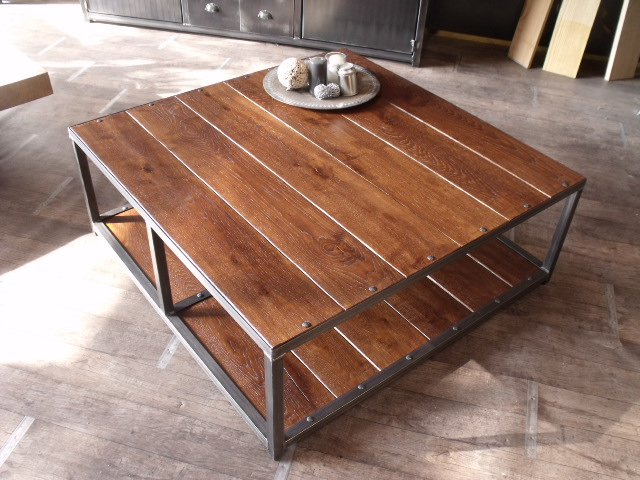 Table basse industrielle factory