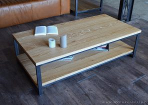 Table Basse Ronde Acier Filaire Bangor Mobilier Design