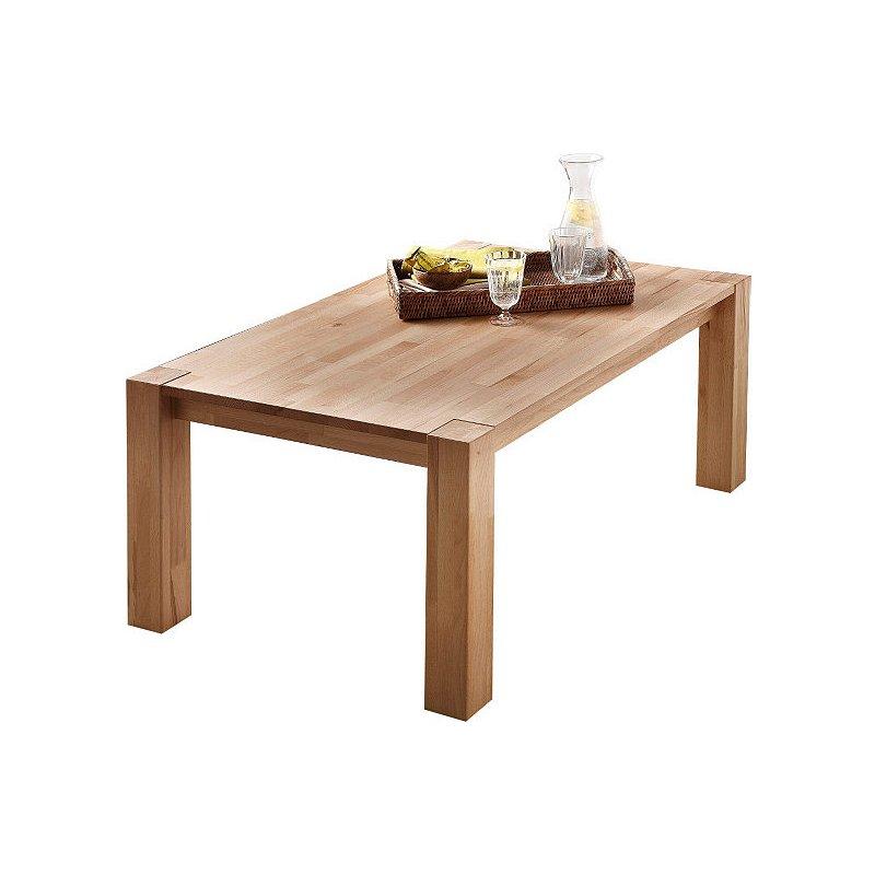 Table basse bois hêtre massif
