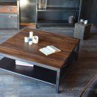 Table basse pour salon en bois
