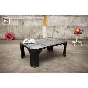 Table basse style industriel la redoute