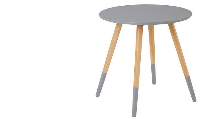 Table basse scandinave bi color