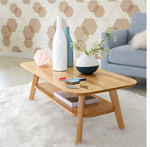 Table Basse Scandinave Noire La Redoute Mobilier Design