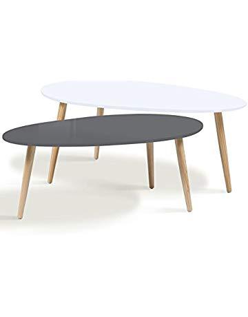 Petite table basse vintage scandinave