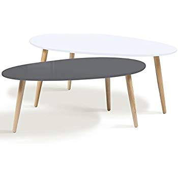 Table basse scandinave vert menthe