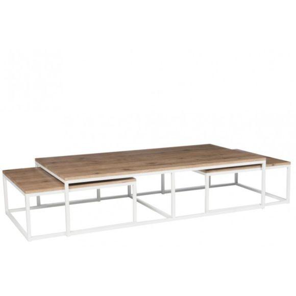 Table basse gigogne metal