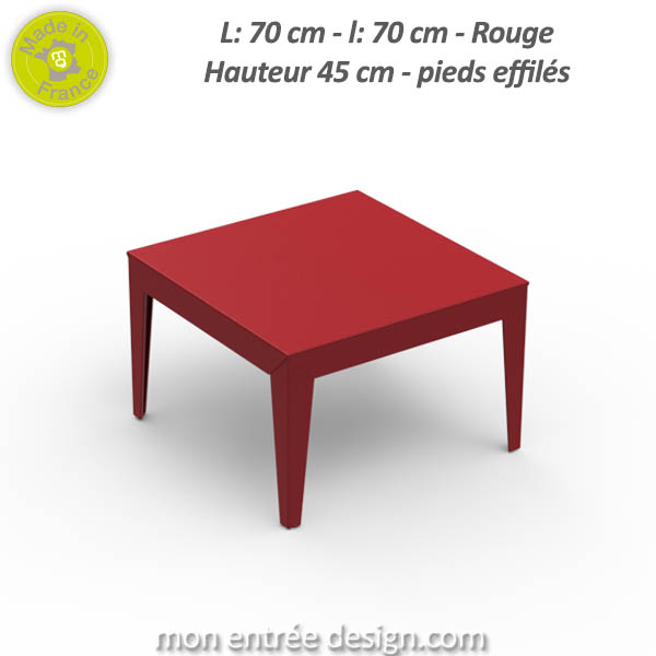 Table basse reno carre wengue