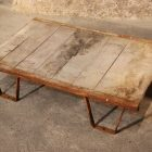 Table basse palette sncf industriel loft
