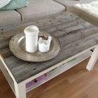 Idee relooking table basse en bois