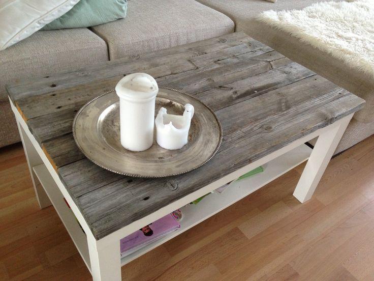 Customiser une vieille table basse en bois