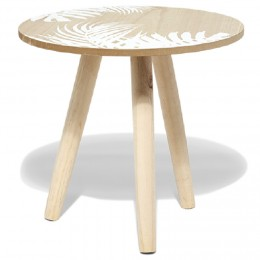Table basse scandinave chene sonoma