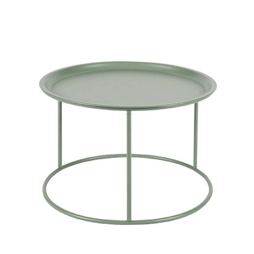 Table basse ronde amovible