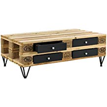 Achat table basse palette
