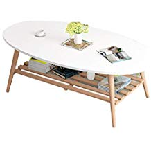 Table basse domino bois et chiffons
