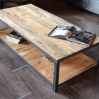 Table basse fait maison palette