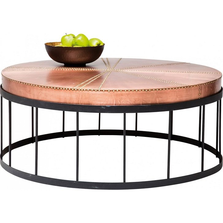 Table basse a redoute