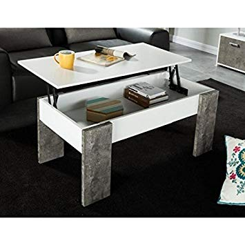 Table basse relevable style ancien