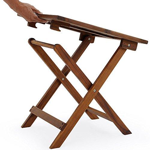 Table basse bois patiné