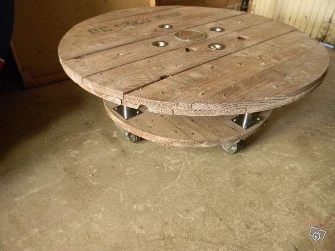 Table basse en bois leboncoin