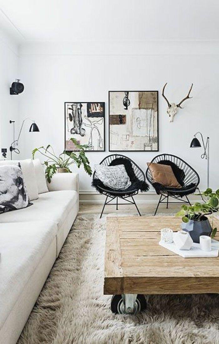 Table basse chambre bois