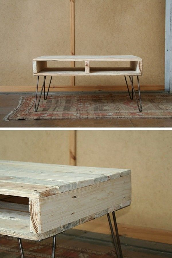 Relooker table basse scandinave