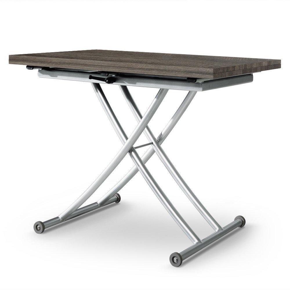 Menzzo b2219s contemporain carrera table basse relevable