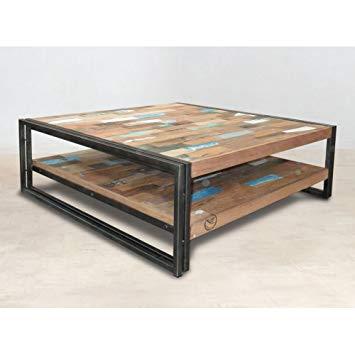 Table basse bois amazon
