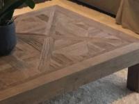 Maison du monde table basse bois recyclé