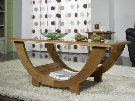 Model de table basse en bois