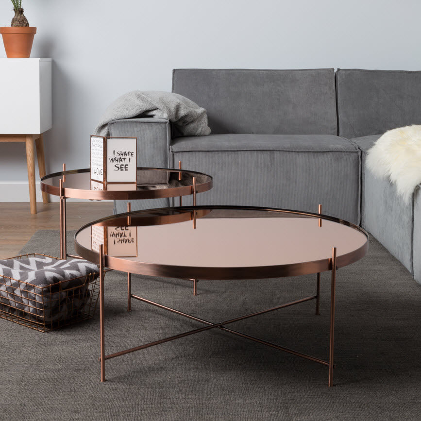 Zuiver table basse bois