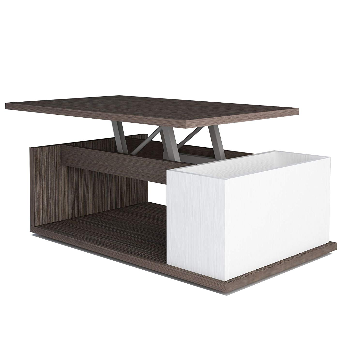 Table basse aldana - plateau relevable