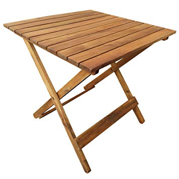 Table basse jardin bois casa