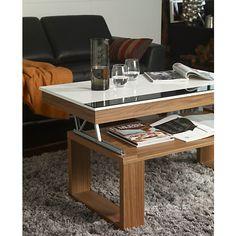 Fabriquer table basse plateau relevable