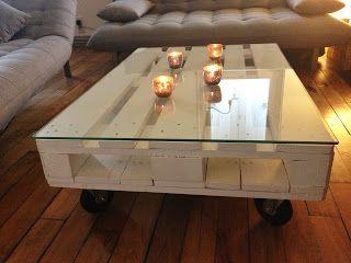 Diy table basse en palette