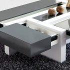 Table basse salon avec rangement