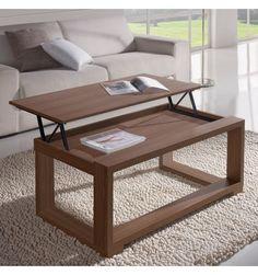 Sofactory table basse laquée avec plateau relevable aline