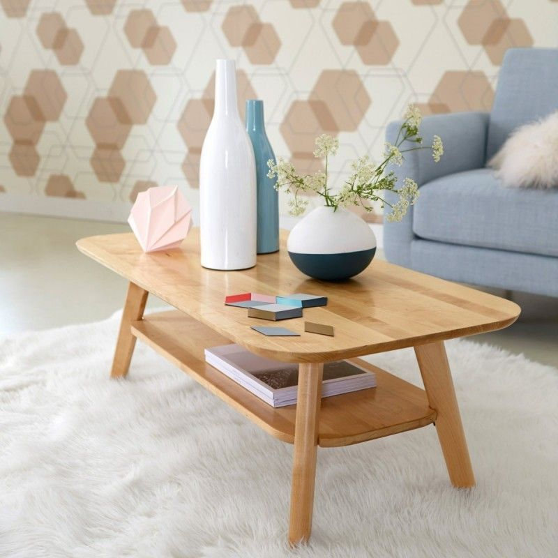 Table basse scandinave laredoute