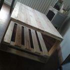 Pinterest table basse palette bois