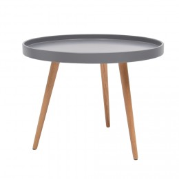 Table basse scandinave bleu petrole