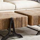 Table basse bois originale