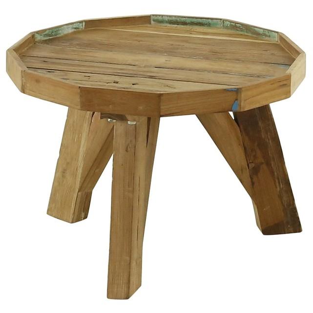 Table basse bois 50 cm