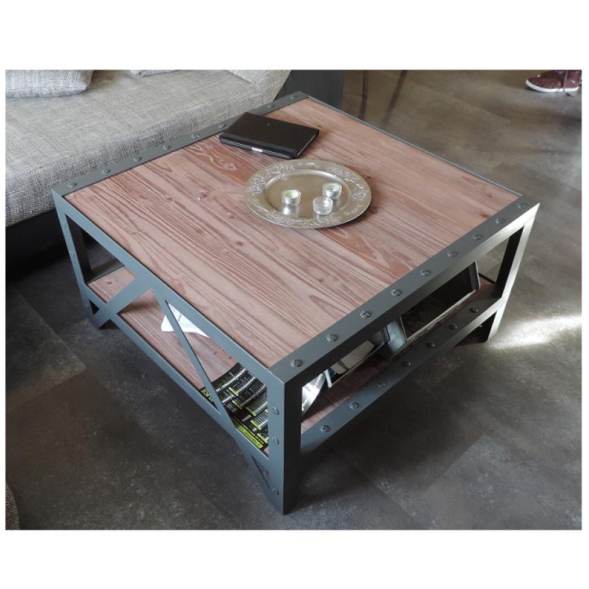 Table basse industrielle a vendre