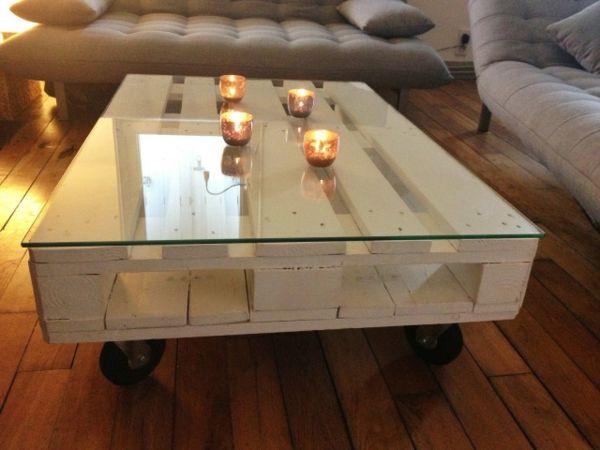 Idee deco palette table basse