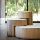 Table basse en bois blanc ikea