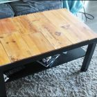 Poncer une table basse ikea